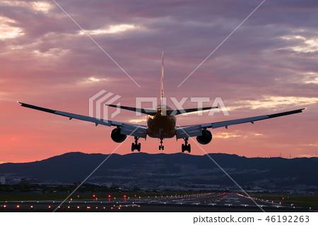 黃昏的伊丹機場 46192263