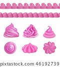 Whipped Cream Decorations Set 46192739