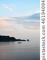 Beautiful sunset over Montenegro 46194094