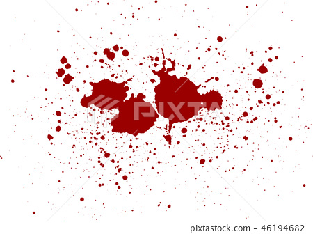 abstract vector blood splatter design background. 46194682