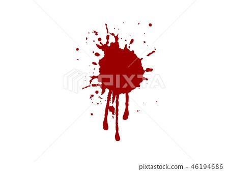 abstract vector blood splatter design background. 46194686
