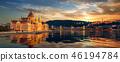 Beautiful view of Budapest 46194784