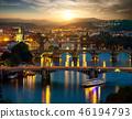 Bridges of Prague in evening 46194793