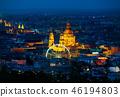 Ferris wheel in Budapest 46194803