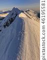 Moldoveanu Peak in winter 46195581
