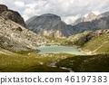 Dolomite's landscape - Puez odle natural park 46197383