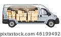 厢式货车 交付 递送 46199492