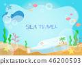 夏季旅遊插圖 46200593