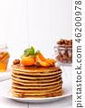 American pancakes stack 46200978