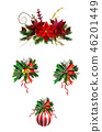 christmas, decoration, bell 46201449