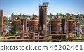 Gas Works Park with view of the lake and city 46202461