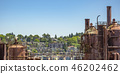 Gas Works Park overlooking the Seattle Skyline 46202462