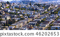 Dense housing in San Francisco CA on a sunny day 46202653