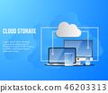 เวกเตอร์,เครือข่าย,เมฆ 46203313