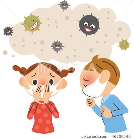 병원균과 감기의 아이 46206340