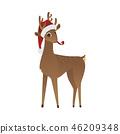 christmas,reindeer,hat 46209348