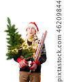 santa hat christmas 46209844