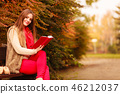 book, reading, bench 46212037