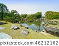 교토 니조 니노 마루 정원의 연못 46212162