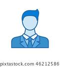 businessman icon man 46212586