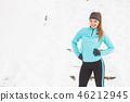 winter, sport, walking 46212945