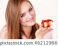 gift, box, girl 46212966