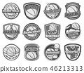 basketball sport vector 46213313