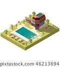 hotel, resort, swimming 46213694