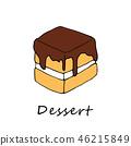 케이크, 디저트, 후식 46215849
