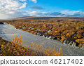 Hraunfossar Waterfalls attractions in Iceland 46217402