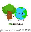 character, mascot, earth 46218715