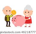 錢 錢幣 小豬 46218777