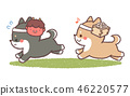 Setsubun狗(沒有李子) 46220577
