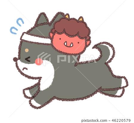 สุนัขหัวหอม 46220579