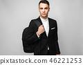 年轻 商人 商务人士 46221253