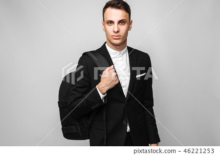 Portrait of a handsome young business man 46221253