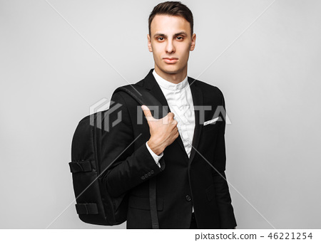 Portrait of a handsome young business man 46221254