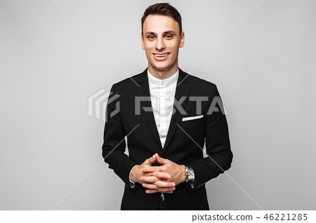 Portrait of a handsome young business man 46221285