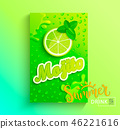fresh juice mojito 46221616