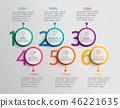 circle, infographic, chart 46221635