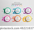 circle, infographic, chart 46221637