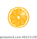 橙色 橘子 橙子 46223138