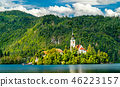 Church of the Assumption of Mary on Bled Island in Slovenia 46223157