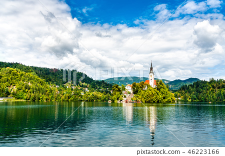 Church of the Assumption of Mary on Bled Island in Slovenia 46223166