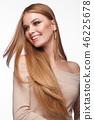 beautiful, hair, lady 46225678