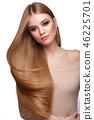 beautiful, hair, lady 46225701