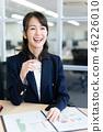 비즈니스우먼, 여성, 여자 46226010
