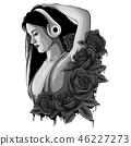 girl head beautiful 46227273