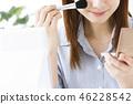 미용 메이크업 화장품 여성 뷰티 젊은 여성 스킨 케어 비즈니스 우먼 46228542