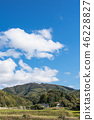 blue, sky, agricultural 46228827